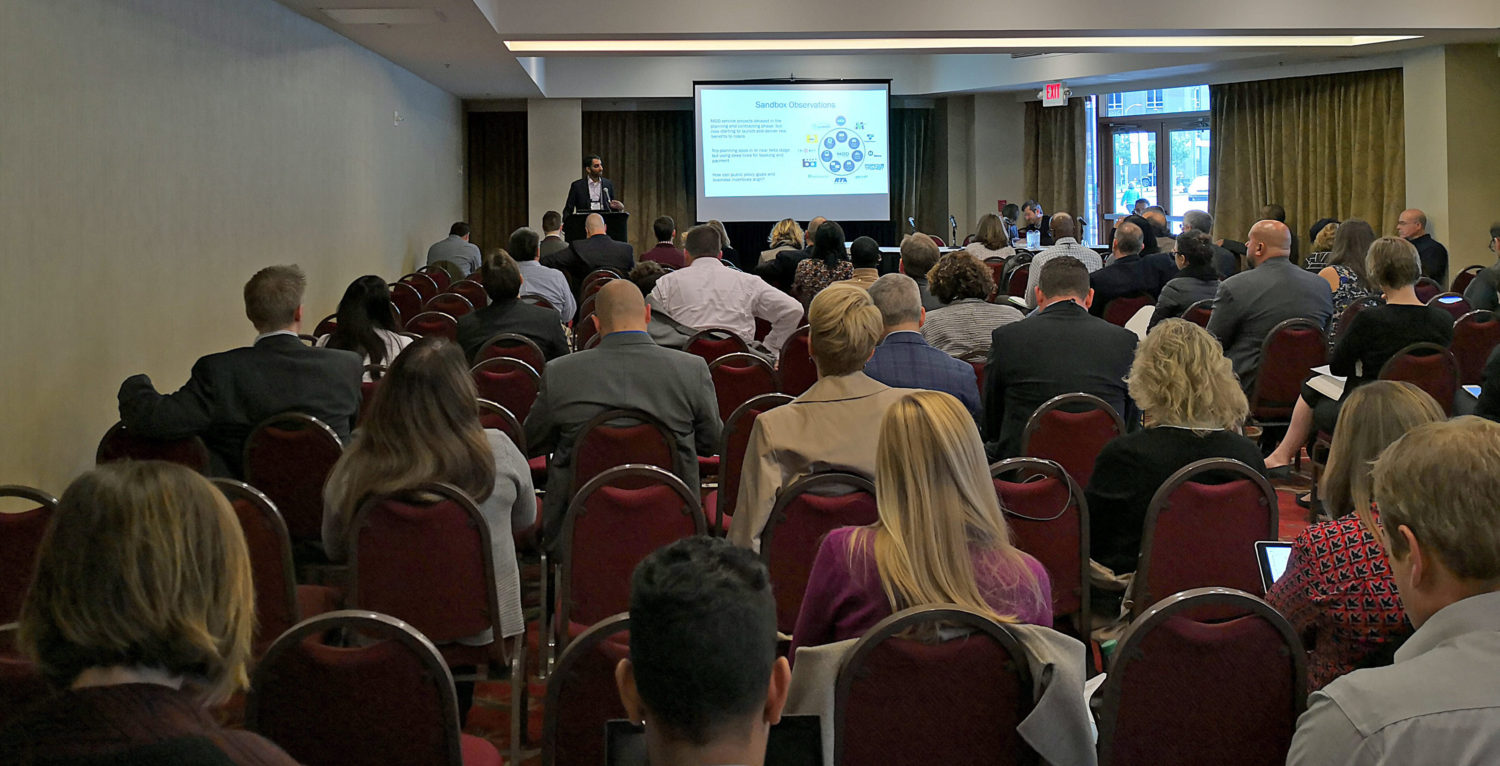 Highlights from the Mobility On Demand Sandbox Workshop at Rail~Volution